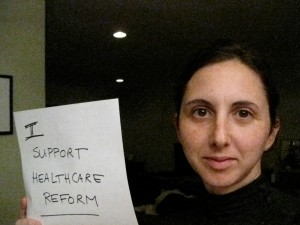 I support healthcare reform